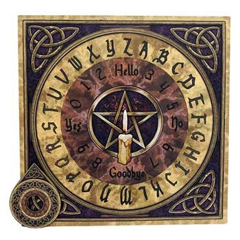 Raven Blackwood Imports Fortune Telling Toys Supernatural Protection Supplies Ouija Board Triquetra Pentacle Candle