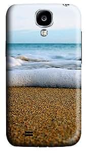Samsung S4 Case Foamy Beach 3D Custom Samsung S4 Case Cover