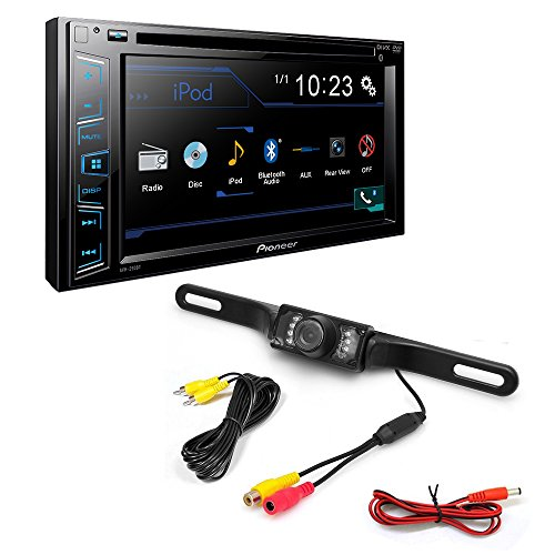 Pioneer AVH-290BT Double DIN Bluetooth In-Dash DVD/CD/AM/FM Car Stereo w/ 6.2