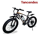 "Image of Tancendes Electric Bike 26"" MTB Lithium Battery 36V 350W Brushless Motor with 3.0"" Fat Tire"