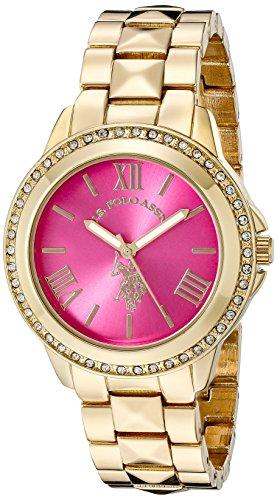 U.S. Polo Assn. Women's USC40077 Analog Display Japanese Quartz Gold Watch