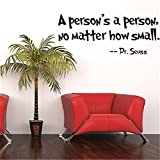 Generic Quote Dr Seuss Wall Art Vinyl Decals Stickers Quotes and Sayings Home Art Decor Wall Sticker Decal Love Kids Bedroom