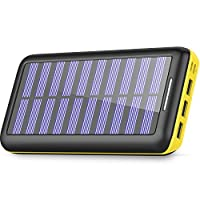 Solar Charger 24000mAh Power Bank,PLOCHY...