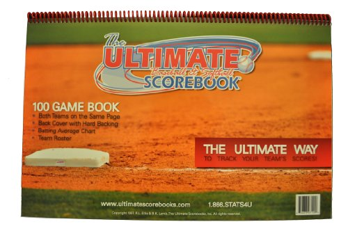 The Ultimate 100 Game Scorebook product image