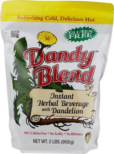 Dandy Blend, Instant Herbal Beverage with Dandelion, 2 lb. (Barley Tea Caffeine)