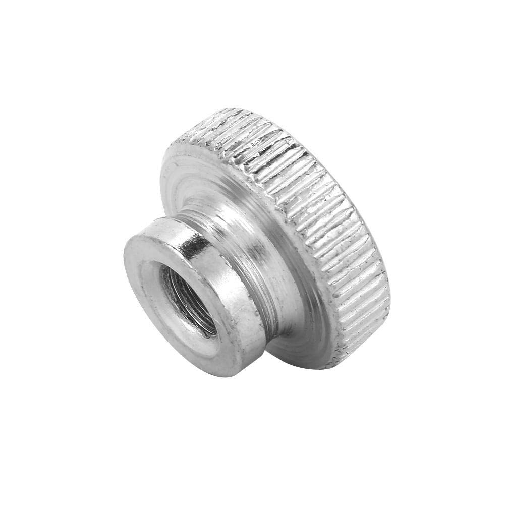 M10(1pcs) Handle Nut M3 M4 M5 M6 M8 M10 Nickel Plated Carbon Steel Hand Tighten Knurled Thumb Nuts