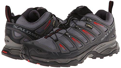 SALOMON X Ultra GTX Zapato de Senderismo Caballero Gris/Negro