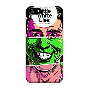 Iphone 5/5s DHX4023GLAr Custom Stylish Inside Out Skin Shock-Absorbing Hard Phone Covers -CharlesPoirier