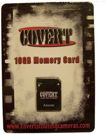 Covert SD Memory Card 16 GB Black