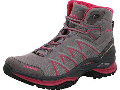 Gtx Mid Femme Trekking Ws Lowa Grey Ferrox Chaussures Fushia Evo EqxtnxORF