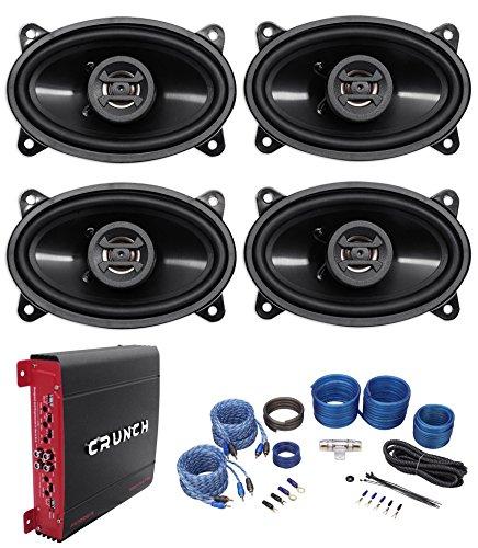 Hifonics ZS46CX Speakers 4 Channel Amplifier