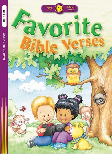 Read Online Favorite Bible Verses (Happy Day Coloring Books: Bible Time) pdf epub
