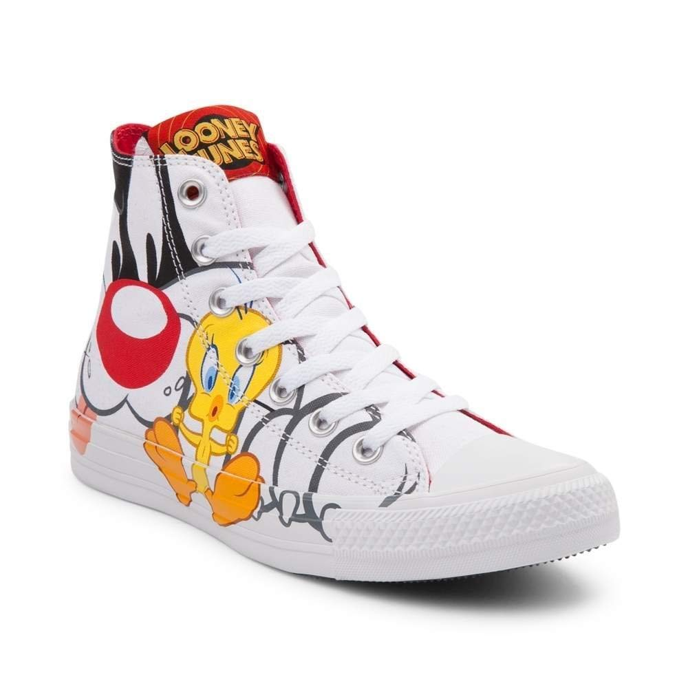 17717c7cff10b Converse Limited Edition Chuck Taylor All Star Looney Tunes Sneaker (Mens  11.5/Womens 13.5, Looney Tunes 9470)