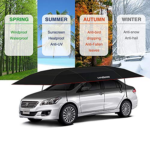 Lanmodo Pro Four Season Wireless Automatic Car Tent Cover Car