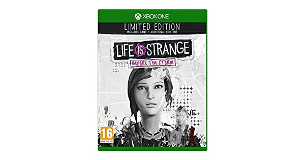 Life is Strange: Before the Storm Limited Edition - Xbox One [Importación inglesa]: Amazon.es: Videojuegos