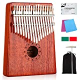 Kalimba 17 Keys Thumb Piano with Study Instruction