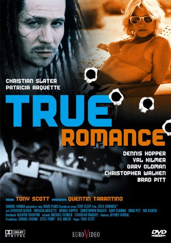 True Romance Poster Movie German 11x17 Christian Slater Patricia Arquette Dennis Hopper Brad Pitt