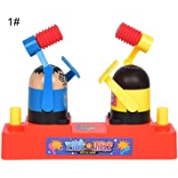 guoYL26sx chird's Toys Funny 2 Players Hammering Contest Battle Desktop Game Family Children Kids Toy - 1#