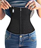 Product review for Plus Size Zipper With Hook Waist Trainer Fitness Body Shaper For Hourglass