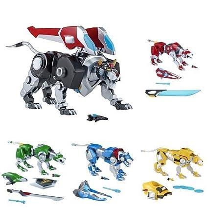 Voltron Legendary Defenders Netflix Season 2 Toys Figures Lions