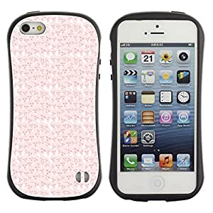 ArtSpace Premium Hybrid Back Case Cover Apple iPhone 5 / 5S ( Pink Skull )