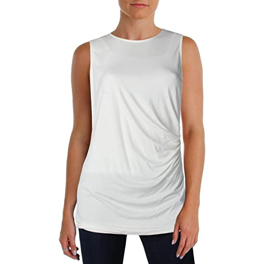 3fd39ebe4a2dc Image Unavailable. Image not available for. Color  Alfani Women s  Sleeveless White Top Size S