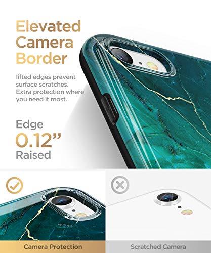 GVIEWIN Marble iPhone SE 2020 Case/iPhone 8 Case/iPhone 7 Case, Ultra Slim Thin Glossy Soft TPU Gel Phone Case Cover…
