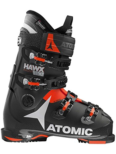 Atomic Hawx Magna 110 Ski Boots - 27.5/Black-Orange