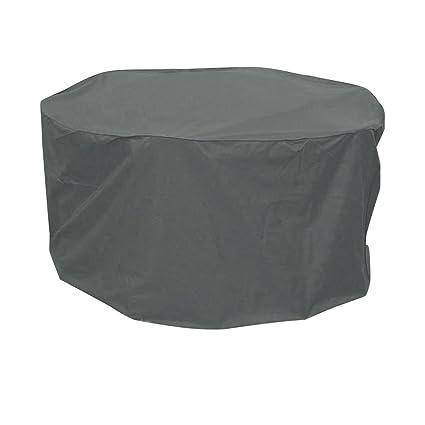 greemotion Housse pour table de jardin ronde 320 cm - Bâche de ...