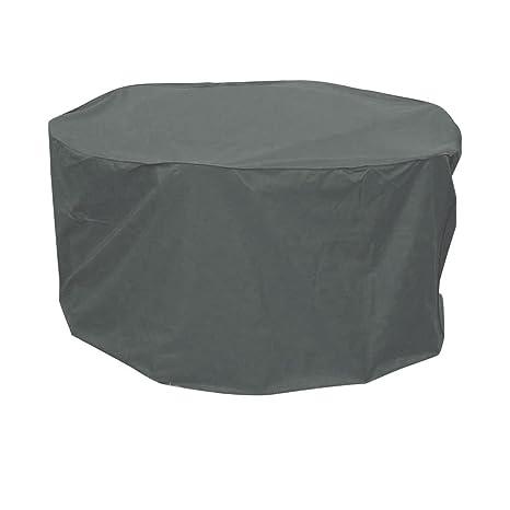 greemotion Housse pour table de jardin ronde 320 cm - Bâche ...