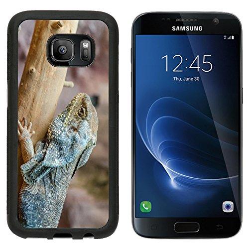 MSD Premium Samsung Galaxy S7 Aluminum Backplate Bumper Snap Case Frilled Lizard IMAGE 20988032