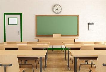 Amazon Com Yeele 5x4ft Photography Background Classroom Blackboard Platform Desks Chairs Education School Chalkboard Class Study Student Teacher Boy Girl Kid Photo Booth Backdrop Wallpaper Camera Photo