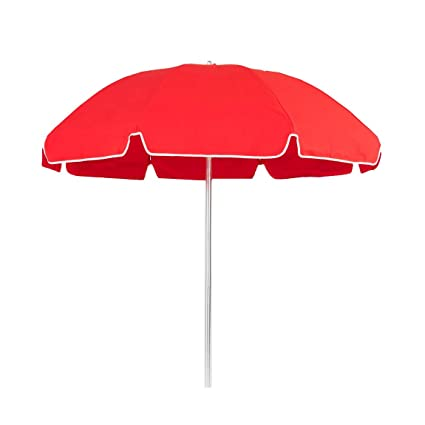 7.5 ft. Commercial Grade Steel Patio Umbrella with Acrylic Fabric UPF 50+  and Aluminum Pole: Amazon.in: Sports, Fitness & Outdoors