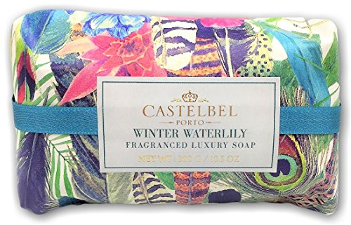Pure Vegetable Soap Water Lily - Castelbel Porto Winter Waterlily Fragranced Luxury Soap Bar