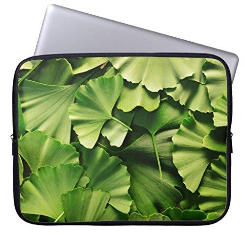 ginkgo biloba tree leaf nature plant texture computer sleeve