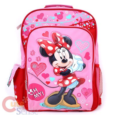 Disney Minnie Mouse Oh My 16\' Backpack -