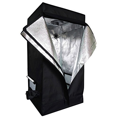 Oshion 2x2x4 Feet Small Indoor Mylar Hydroponics Grow Tent Room (24''x 24''x 48'') by Oshion