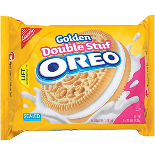 Oreo Golden Double Sandwich Cookie product image