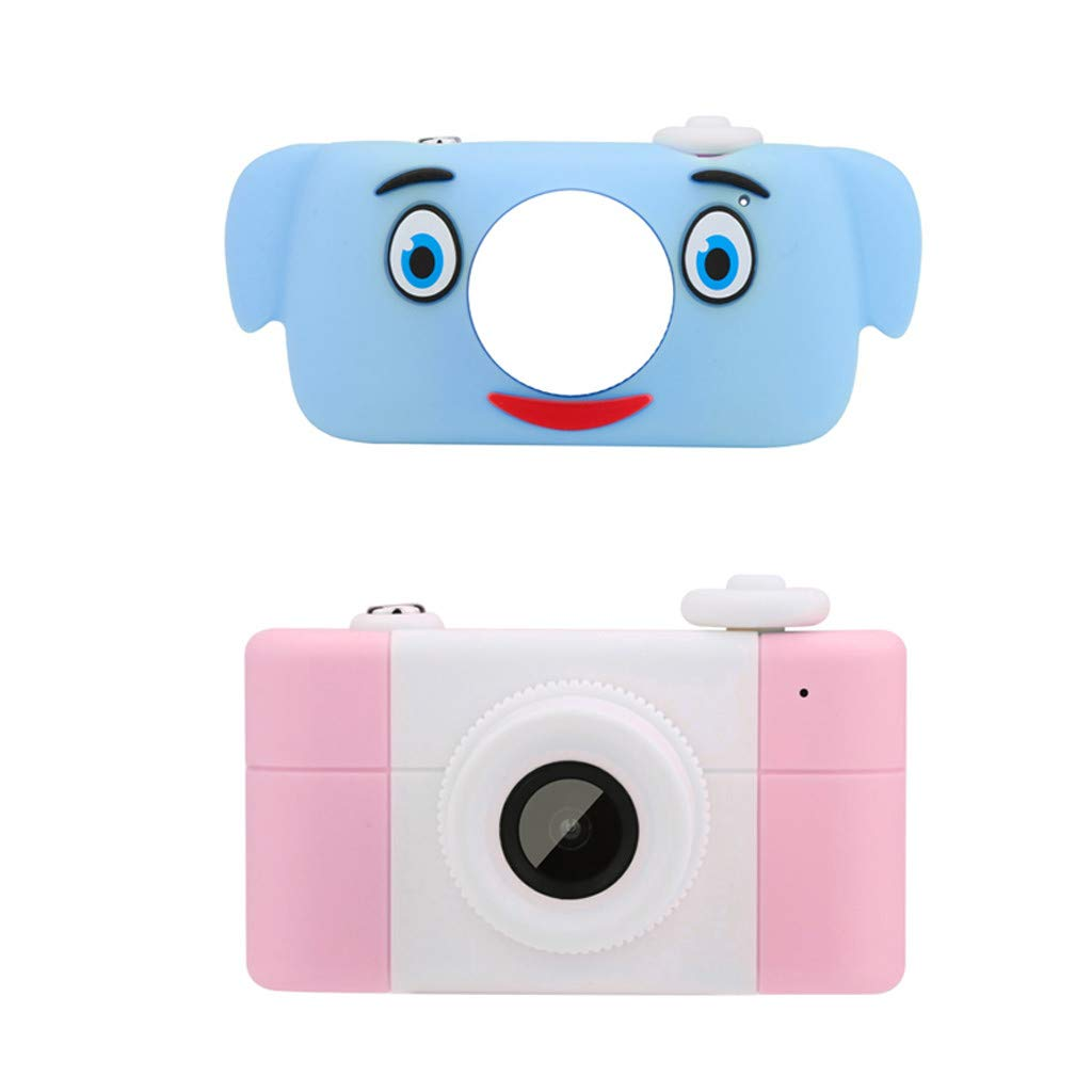 Cimaybeauty Children's Camera for 3-8 Year Old Girls Boys, Digital Toy Photo Mini Fun Cartoon Children's Camera