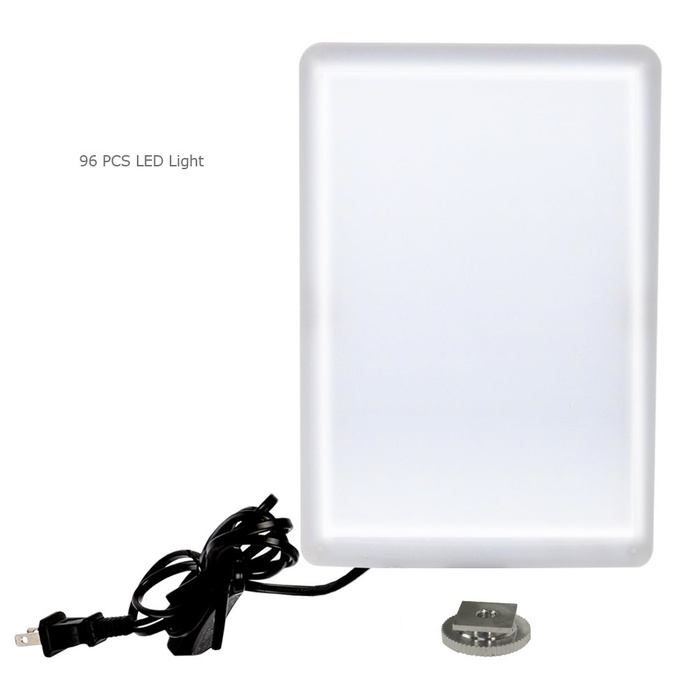 LimoStudio LED Light Panel with Gooseneck Extension Bar Adapter and Mini Table Top Lighting Stand, Photo Studio, AGG2208 by LimoStudio (Image #2)