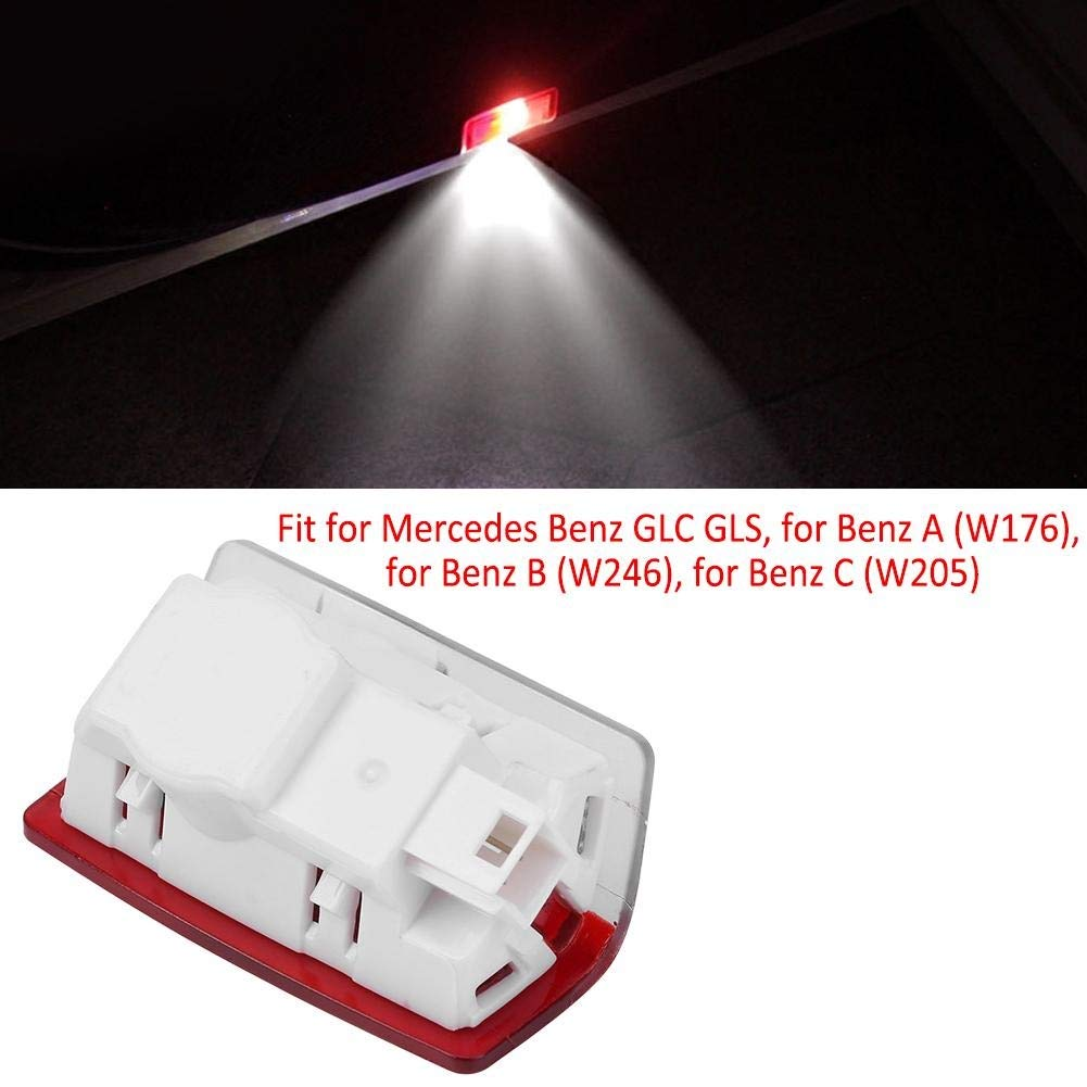 Outbit Courtesy Lights 4 PC of Car Door Courtesy LED-Lichtprojektor Shadow Logo Welcome Light f/ür Mercedes Benz GLA.