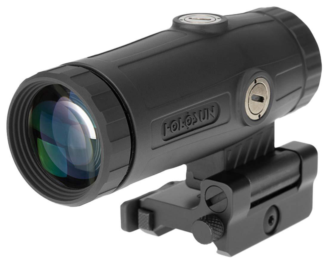 HOLOSUN - HM3X Flip to Side 3x Red Dot Magnifier QD Mount