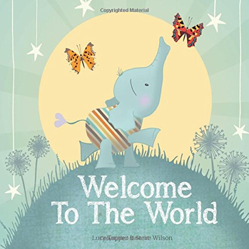 Welcome to the World - keepsake gift book for a new baby -