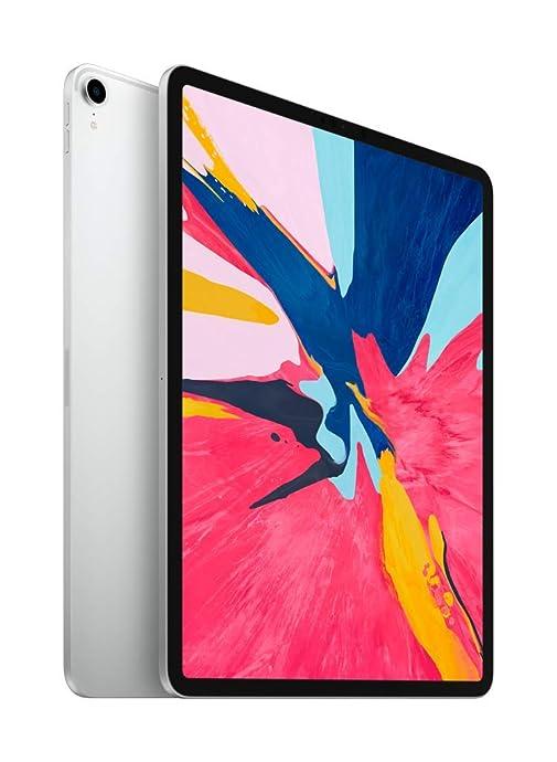 Apple iPad Pro 12.9英寸平板电脑 最新款(256GB WLAN版/全面屏/A12X芯片/Face ID)银色 8.3折$949史低 海淘转运到手约¥6687