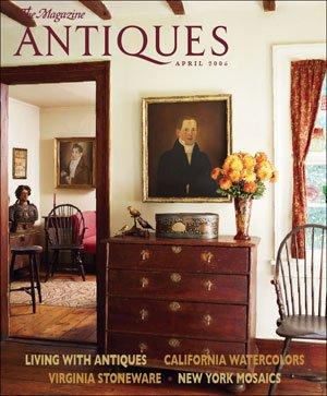 The Magazine Antiques April 2005 California Watercolors, Virginia Stoneware (67)