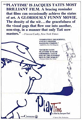 Playtime Poster Movie Jacques Tati Barbara Dennek Jacqueline Lecomte Jack Gautier