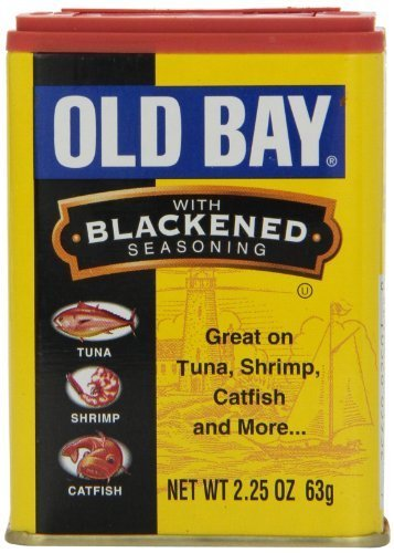 Old Bay Blackened Seasoning, 2.25 oz (63 g)(Pack of 12) by Old Bay by Old Bay
