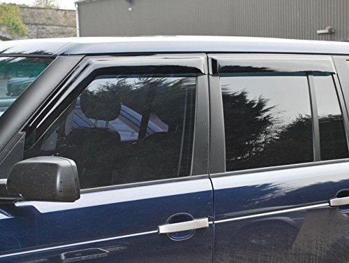 LAND ROVER RANGE ROVER 2003-2012 L322 WIND DEFLECTOR SET 4 PIECES PART: DA6075