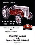 1939 1950 1951 1952 Ford Tractor 9N 2N 8N Parts Numbers Book Manual Factory