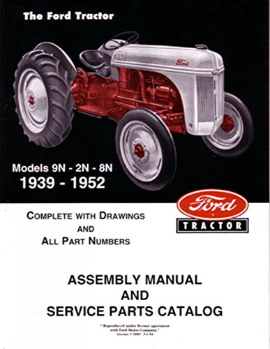 9n Ford Tractor 8n Parts : Bishko automotive literature ford